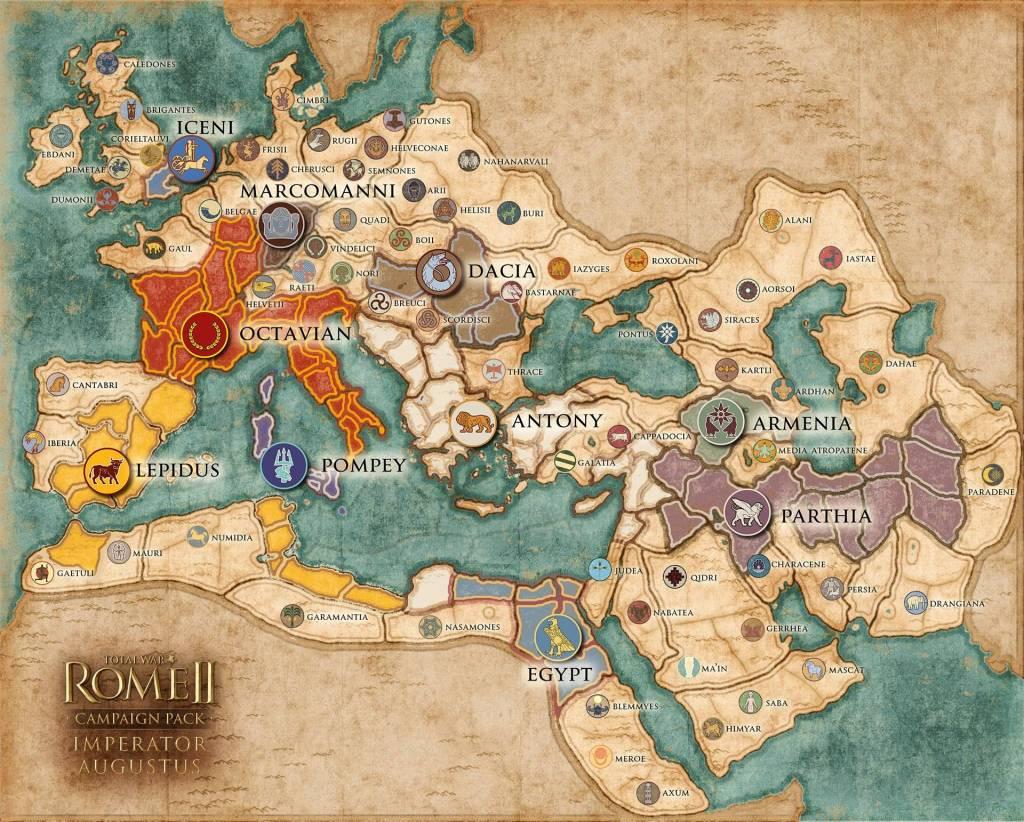 Imperator Augustus Campaign Map