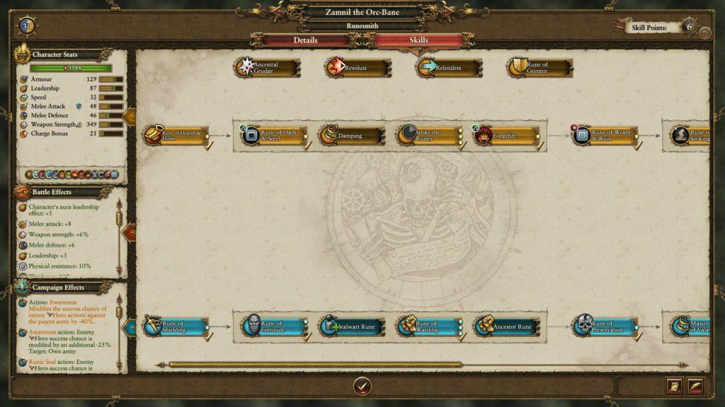 Dwarf Campaign Guide - Runesmith