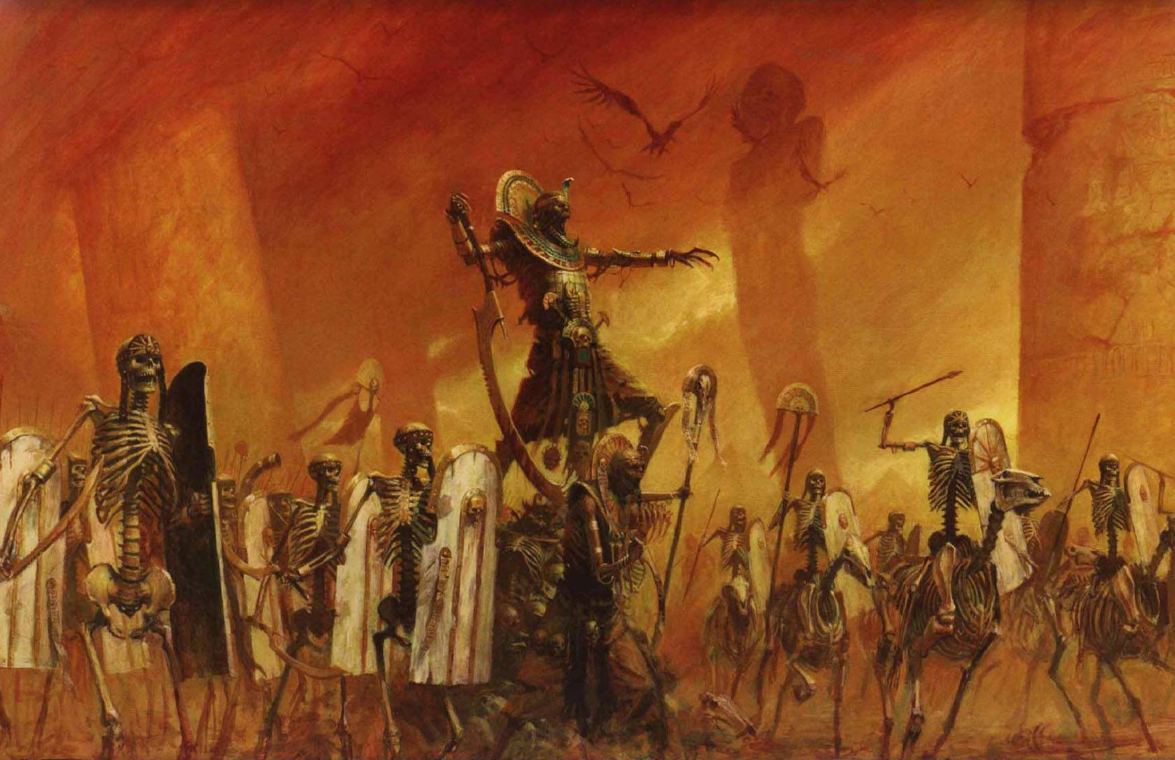 Tomb Kings Warhammer Total War 2
